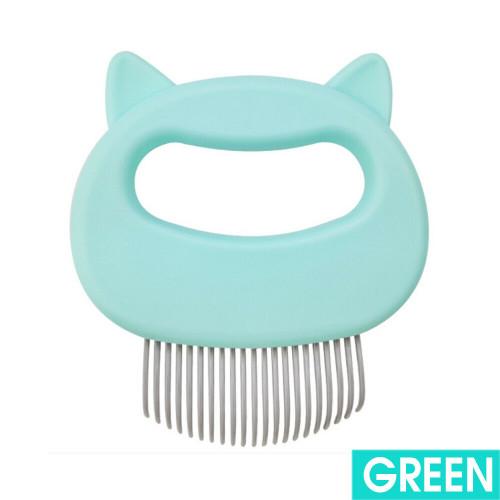 Cat/Dog Massager Comb Teal