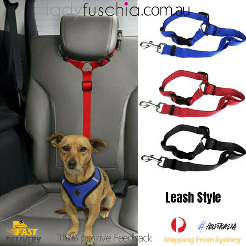 Adjustable Pet Dog Travel Safety Car Vehicle Seat Belt02