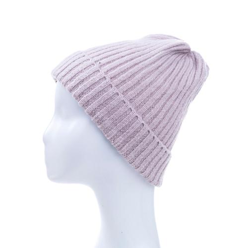 Pink Plain Winter Beanie Hat HATM190-4