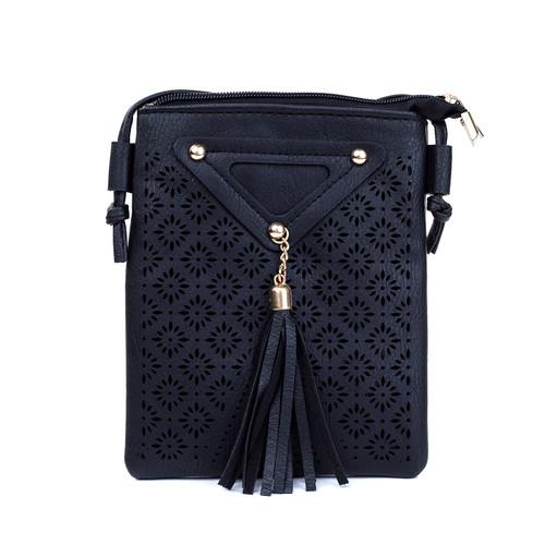 BLACK Women  Crossbody BagB5305-1