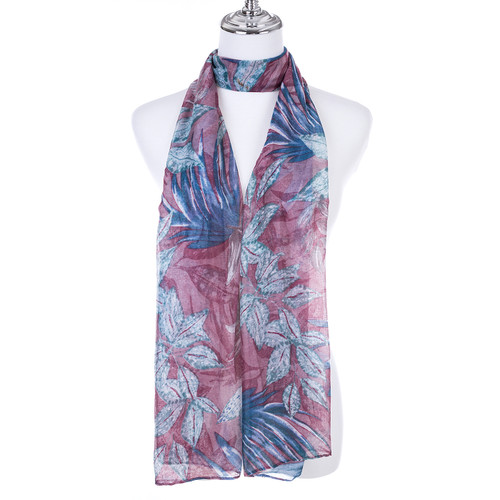 PINK Lady's Summer Light Weight Scarf SCX883-1