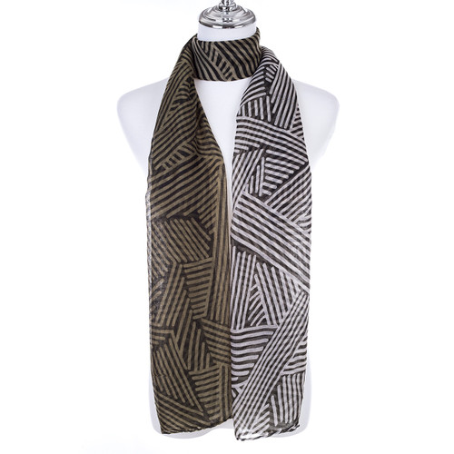 GREEN Lady's Summer Light Weight Scarf SCX885-3