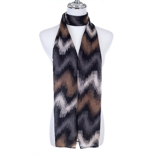 COFFEE Lady's Summer Light Weight Scarf SCX887-2