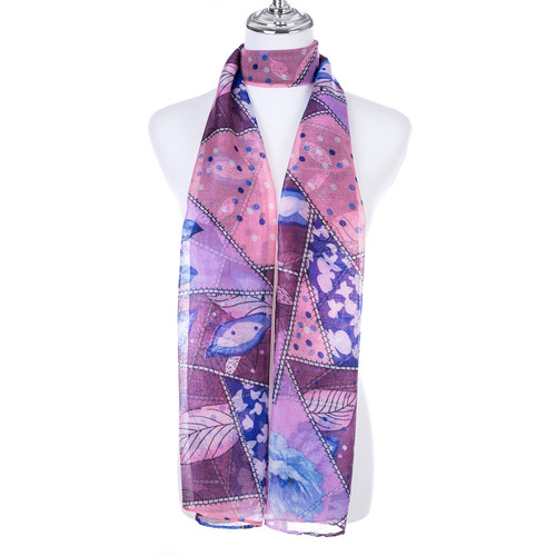 PINK Lady's Summer Light Weight Scarf SCX889-5