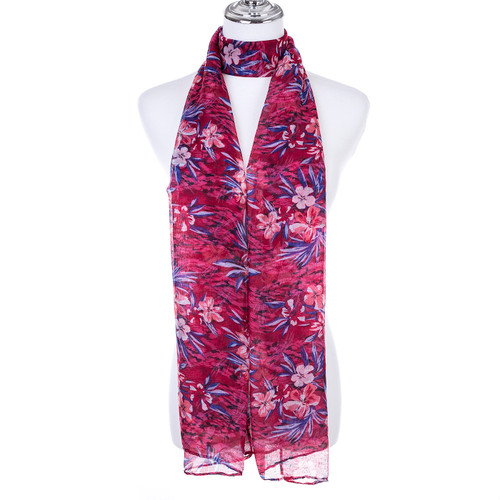 RED Lady's Summer Light Weight Scarf SCX891-1
