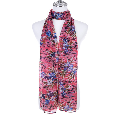 CORAL Lady's Summer Light Weight Scarf SCX891-5