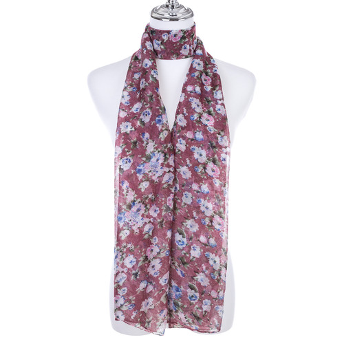 PINK Lady's Summer Light Weight Scarf SCX893-1
