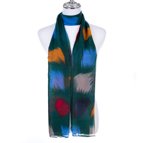GREEN Lady's Summer Light Weight Scarf SCX897-2