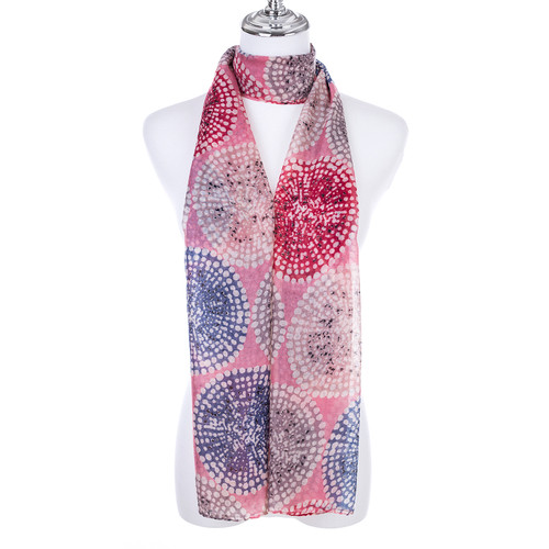 PINK Lady's Summer Light Weight Scarf SCX901-1