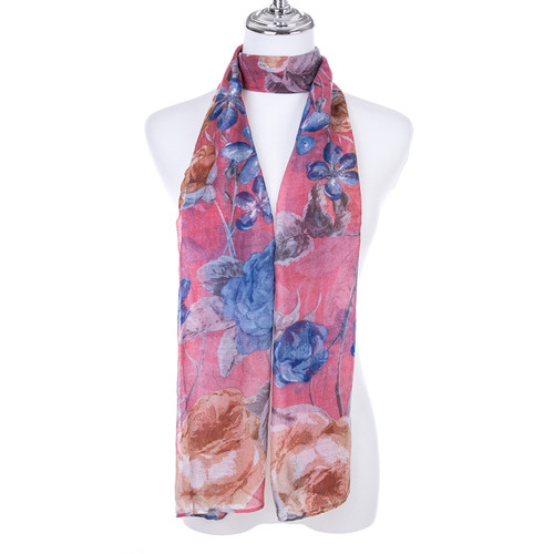 PINK Lady's Summer Light Weight Scarf SCX902-6