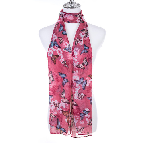 PINK Lady's Summer Light Weight Scarf SCX903-1