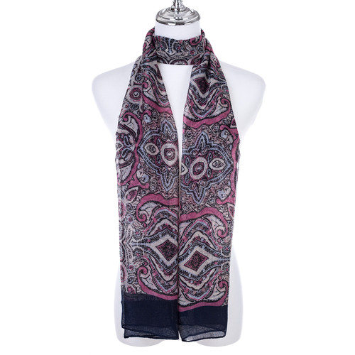PINK Lady's Summer Light Weight Scarf SCX913-3