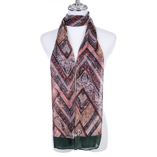 GREEN Lady's Summer Light Weight Scarf SCX915-6