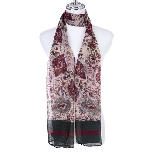 GREEN Lady's Summer Light Weight Scarf SCX916-1