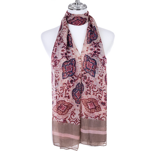 COFFEE Lady's Summer Light Weight Scarf SCX916-4