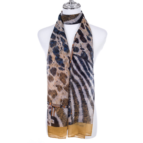 YELLOW Lady's Summer Light Weight Scarf SCX918-2