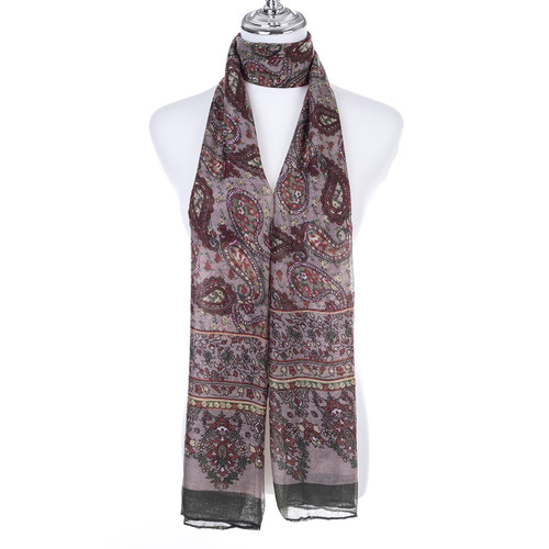 GREEN Lady's Summer Light Weight Scarf SCX919-2