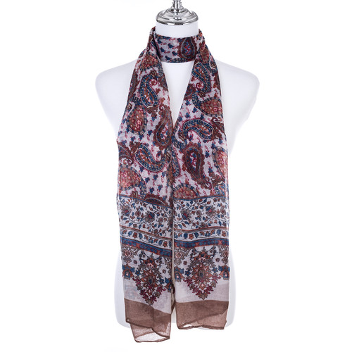 COFFEE Lady's Summer Light Weight Scarf SCX919-4