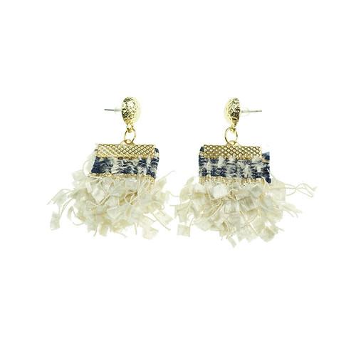 Addis Beige Earrings
