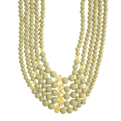 Gannon Beige Necklace