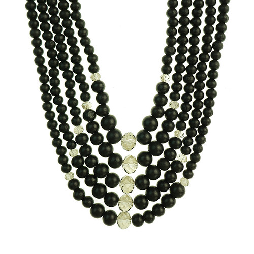 Gannon Black Necklace
