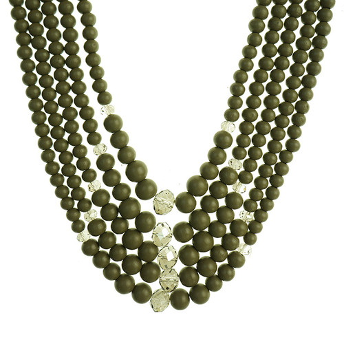 Gannon Green Necklace