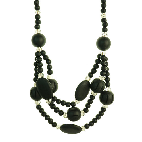 Gerrald Black Necklace