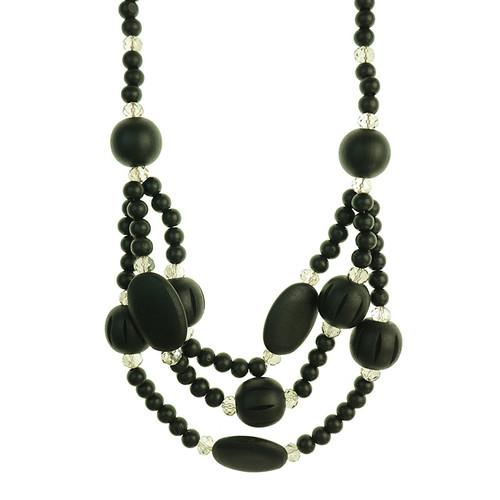 Gerrald Black Necklace