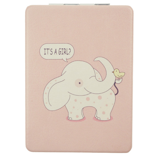 Elephant Pattern Design Rectangle Mirror