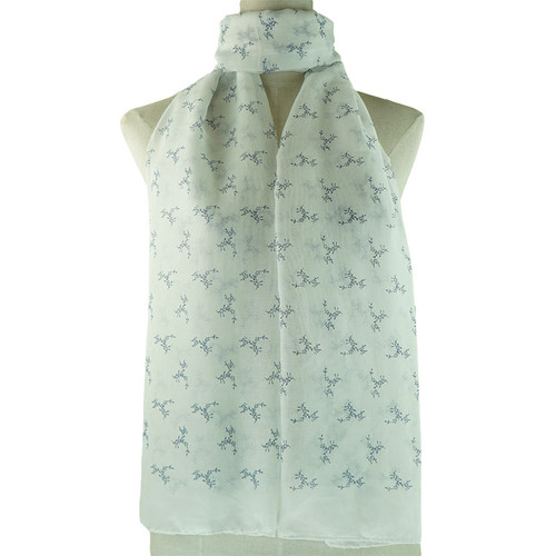 White Ethabella All Season Scarf