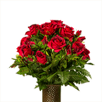 Medium Red Garden Roses