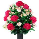 Beauty Mum and Light Pink Rose