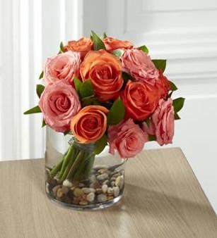 The Blazing Beauty™ Rose Bouquet