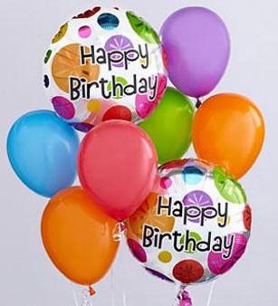 Birthday Balloon Bunch
