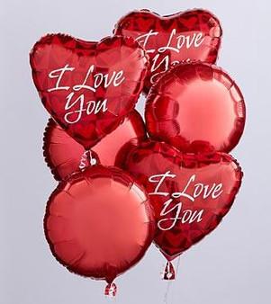 Love You Balloon Bunch