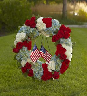 The To Honor One's Country™ Wreath