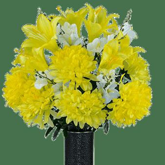 Medium Yellow Dahlia Mix
