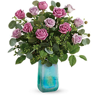 Watercolor Roses Bouquet