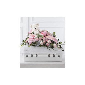 The Touch of Sympathy Casket Spray