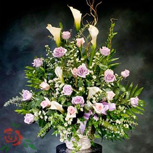 FD Lavender Delight Basket