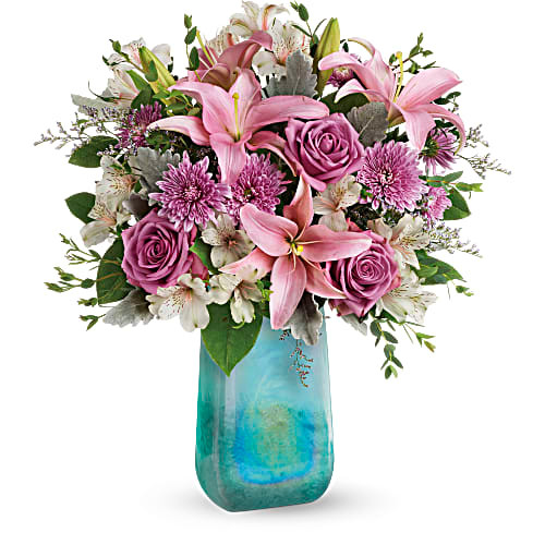 Art Glass Treasure Bouquet