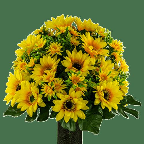 Medium Yellow Sunflower Cone