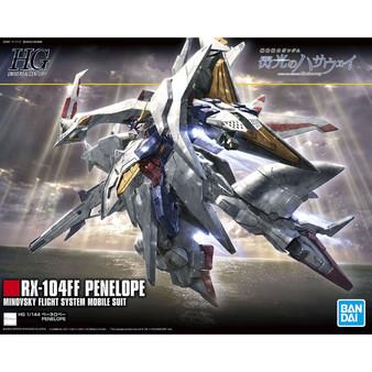 "HGUC 1/144 Penelope Plastic Model ""Mobile Suit Gundam Hathaway's Flash""(Released)"