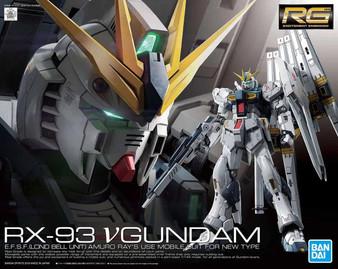 "RG 1/144 Nu Gundam Plastic Model ""Mobile Suit Gundam: Char's Counterattack""(Released)"