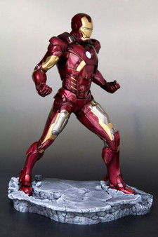 ARTFX - Iron Man 3: Iron Man MARK VII (Renewal Package) 1/6 PVC Pre-painted Easy Assembly Kit(Released)