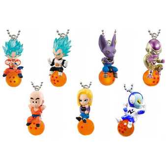 Dragon Ball Super QD Strap Mascot Keychain Collection Box Volume 2 – Complete Set