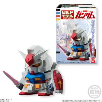 (Single)(Random)Build Model Gundam (3) (CANDY TOY)