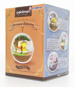 (single)(Random) Pokemon Terrarium Collection 4 Trading Candy Toy