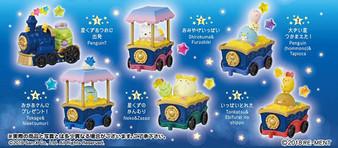 San-x Sumikko Gurashi Stardust Train 6Pack BOX
