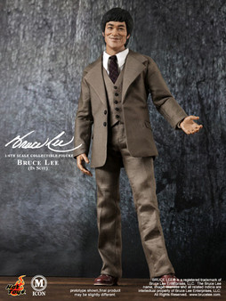 M Icon 1/6 Bruce Lee Figure (Suit)(Released)